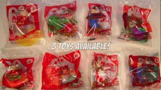 Alvin and the Chipmunks Chip-Wrecked 8 McDonalds Happy Meal Toy Review 2011