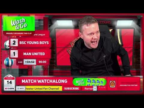 GOLDBRIDGE Best Bits   Young Boys 2-1 Man United   Champions League