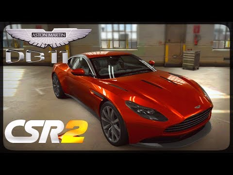 CSR Racing 2 - Aston Martin DB11 delivery and live races - Milestone prize