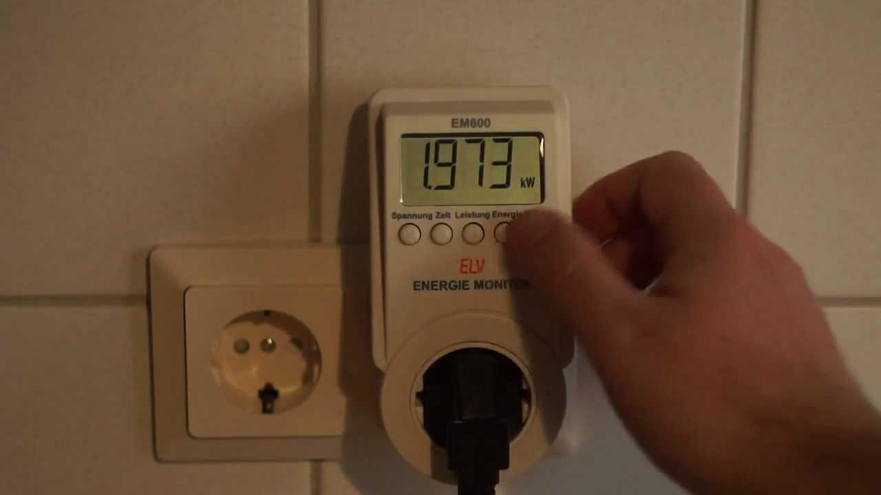 energiekostenmessger t ermittelt den stromverbrauch eines. Black Bedroom Furniture Sets. Home Design Ideas