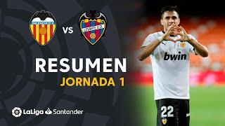 Resumen de Valencia CF vs Levante UD (4-2)