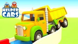 Kinder Cartoon mit Autos - Die Helfer Autos - Der Kipplaster