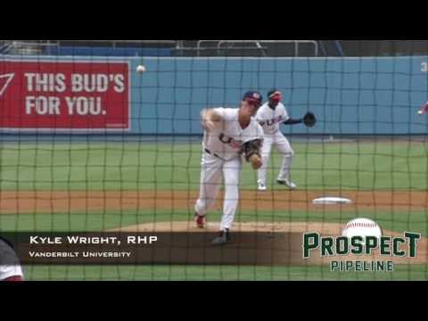 Kyle Wright, RHP, Vanderbilt University, Pitching Mechanics at 200 FPS