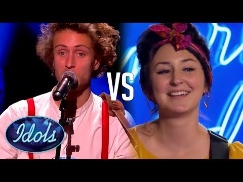 I KISSED A GIRL! American Idol & Nouvelle Star Sing Katy Perry's Song! Who Sang it Better?!