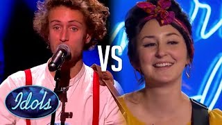 I KISSED A GIRL! American Idol & Nouvelle Star Sing Katy Perry's Song! Who Sang it Better?! Video