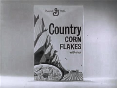 General Mills Country Corn Flakes 1963 TV Commercial HD