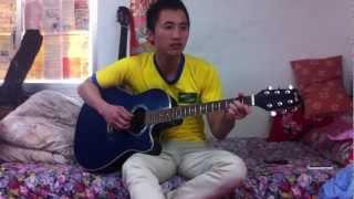 chiếc áo bà ba-guitar minh hungcover