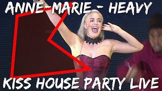 Anne-Marie - Heavy (LIVE) | KISS House Party