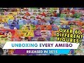 UNBOXING EVERY AMIIBO RELEASED IN 2015!!!