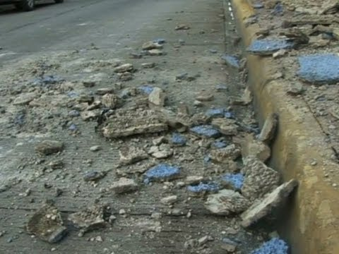 Raw: Earthquake Jolts Mexico, Guatemala