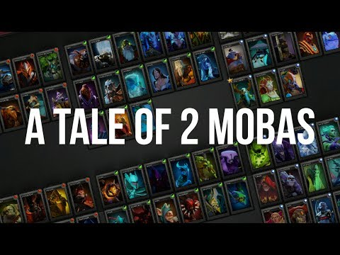 The Difference Between LoL vs DotA 2 (A Tale of 2 MOBAs)