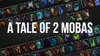 The Difference Between LoL vs DotA 2 (A Tale of 2 MOBAs) | gbay99