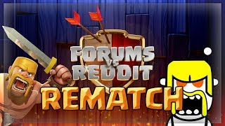 FORUMS vs REDDIT REMATCH! Clash of Clans War Recap - RvF 3 CoC TH9, TH10 & TH11 Attacks!