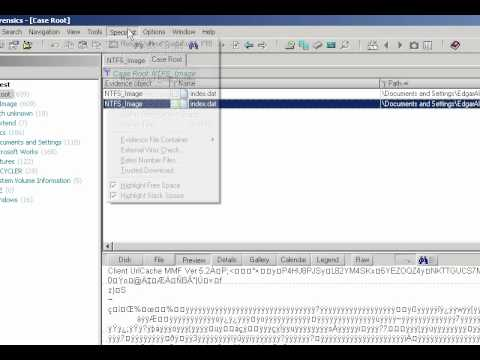 Video 22 - Finding And Parsing Internet Explorer Index.dat Files