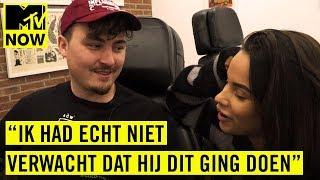 JACK $HIRAK en MONICA GEUZE samen in de TATTOO SHOP?! | MTV NOW SPECIAL