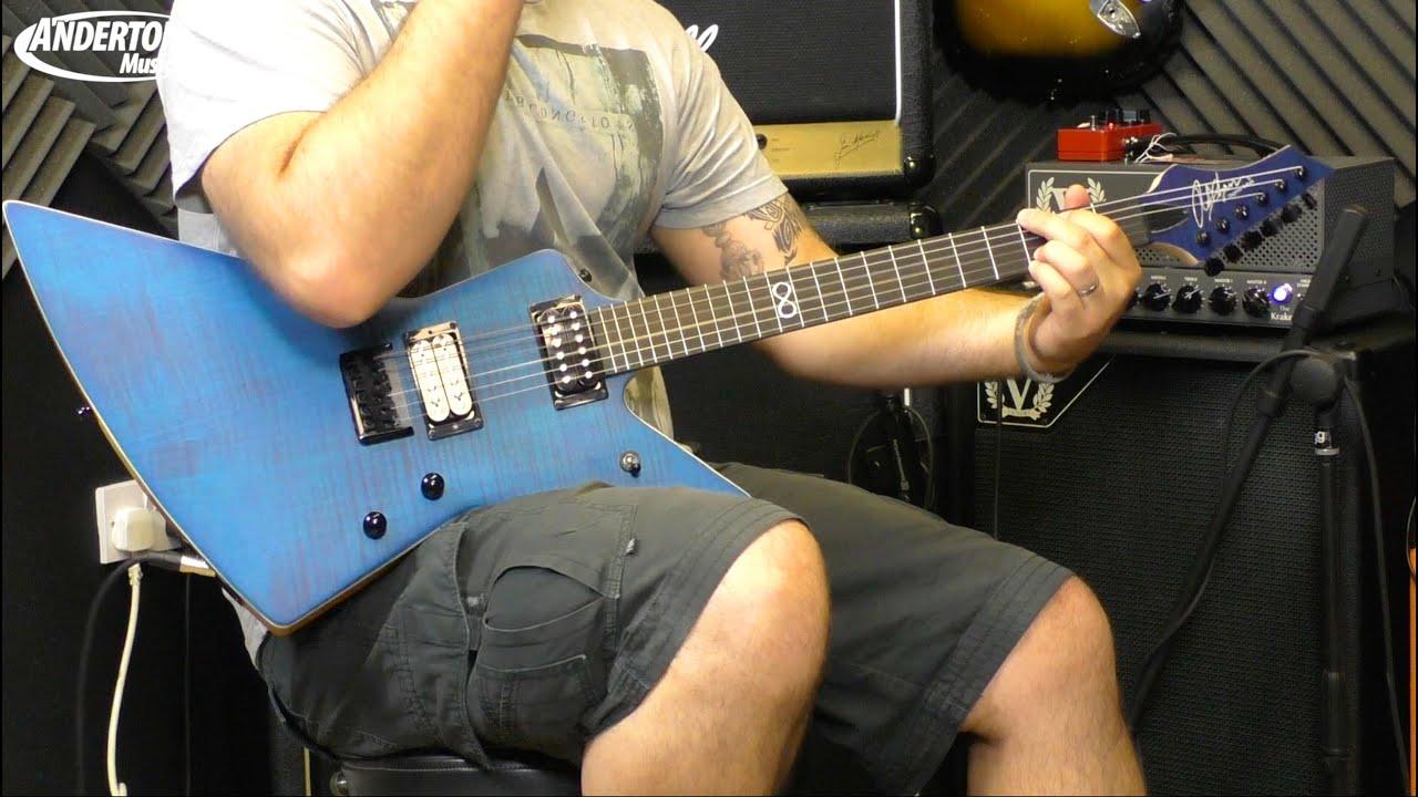 chapman ghost fret guitar demo youtube. Black Bedroom Furniture Sets. Home Design Ideas