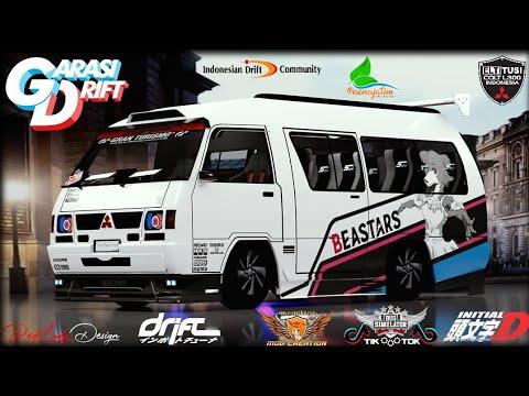 "mod-bussid-""l300-delica""-tukang-tahu-concept-||-garasi-drift-||-slalom-training-performance-(bussid)"