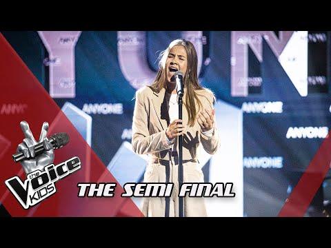 Femke - Anyone | The Semi Final | The Voice Kids | VTM