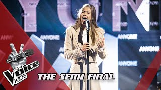 Femke - Anyone | The Semi Final | The Voice Kids | VTM