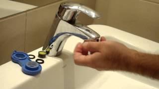 Úsporný perlátor EcoWaterSaver - instalace do vodovodní baterie M24