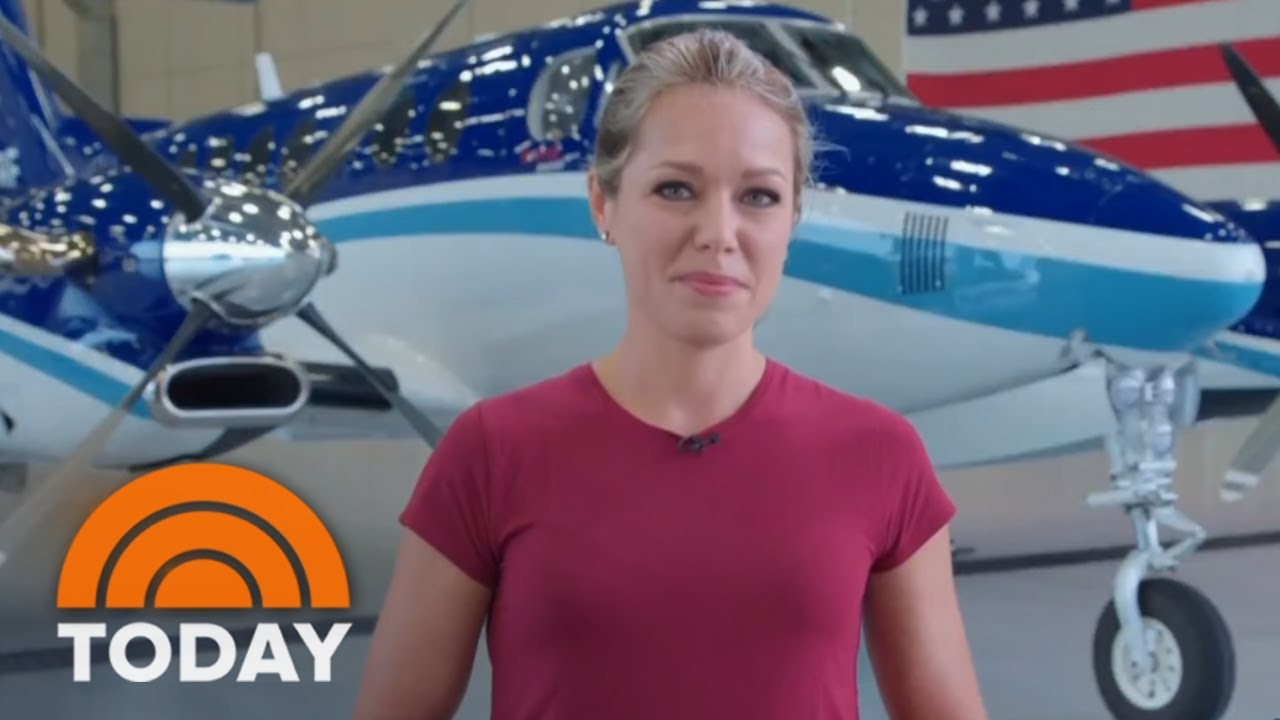 Dylan Dreyer Working Out