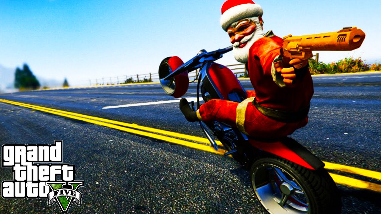 GTA 5 CHRISTMAS DLC 2015 - SNOW, NEW CAR & MORE! (GTA 5 FESTIVE ...