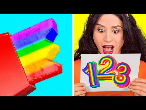 AMAZING LIFE HACKS YOU NEED TO TRY || Funny Tricks With Everyday Stuff by 123 Go! Genius