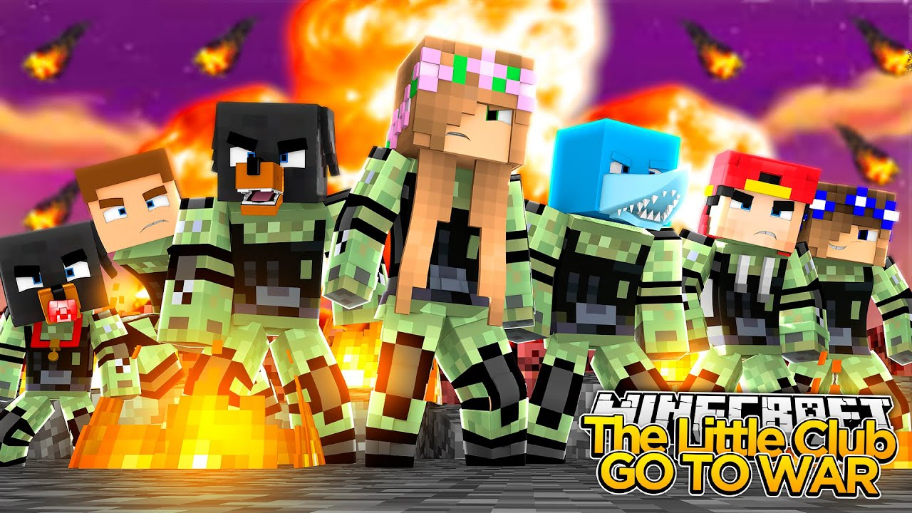 Minecraft little kelly the little club go to war - The little club ...
