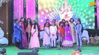 SARASWATI VANDNA BY STUDENTS