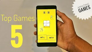 Top 5 Best Android Games 2018   Must Play