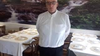 O gerente do restaurante alameda sines fernando rosa