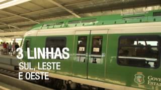 Metrô leva conforto e agilidade para população de Fortaleza #mochilãoBR -- Ep.03