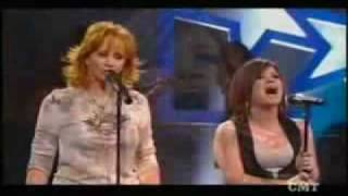 Reba Mcentire  amp  Kelly Clarkson  Because of You  Crossroads