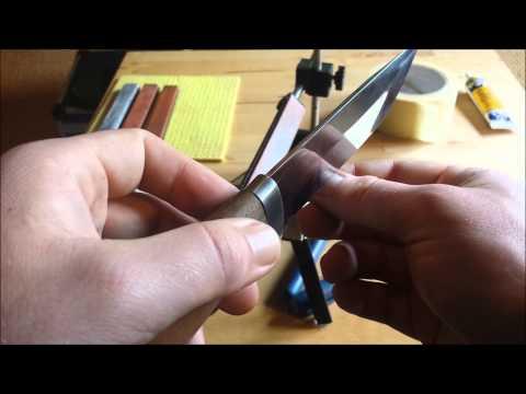 Messer Schleifen mit