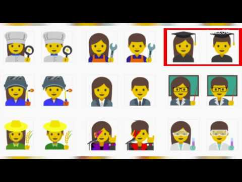 Google's Emoji Will Finally Reflect Gender Equality