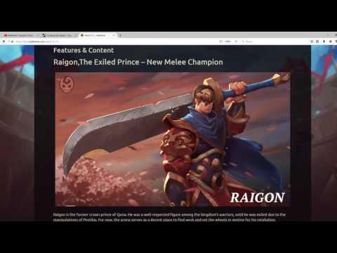 видео: battlerite. Обзор патча 0.11.0.0. Новый герой! raigon!