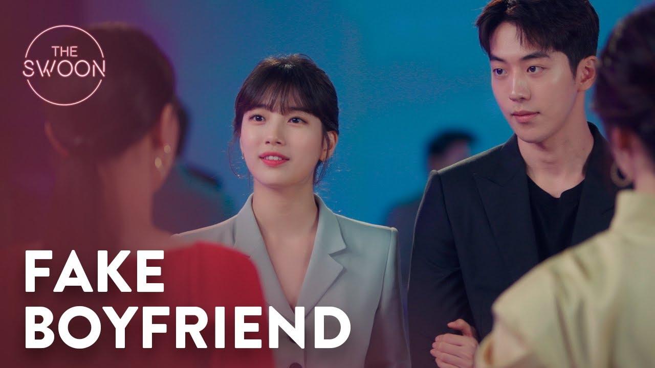 Download Nam Joo-hyuk pretends to be Suzy's boyfriend | Start-Up Ep 3 [ENG SUB]
