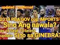 COMPLETE LIST of IMPORTS sa PBA GOVERNOR'S CUP 2019  kilalanin I latest update pba IMPORTS