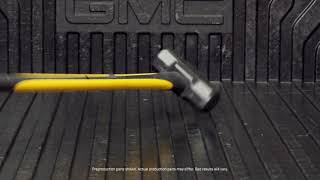 2019 GMC Sierra CarbonPro durability test