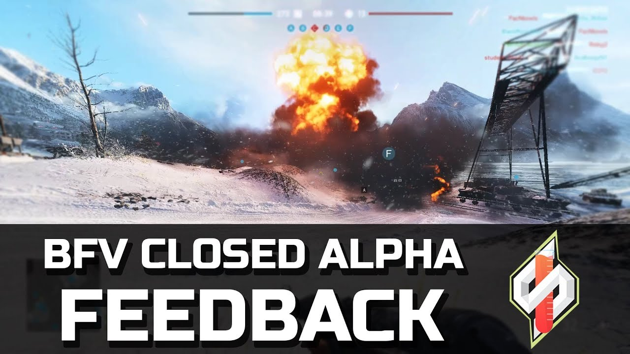 Battlefield V Closed Alpha - Feedback