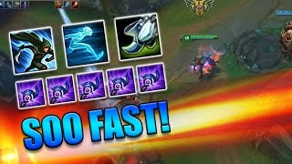 600+ MOVESPEED TWISTED FATE (5x Ludens Echo) - League of Legends