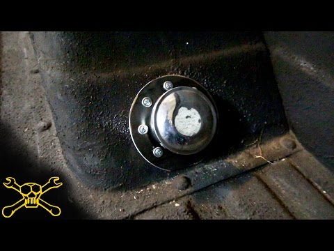 Relocated Fuel Filler For The Chevy C10 Shop Truck