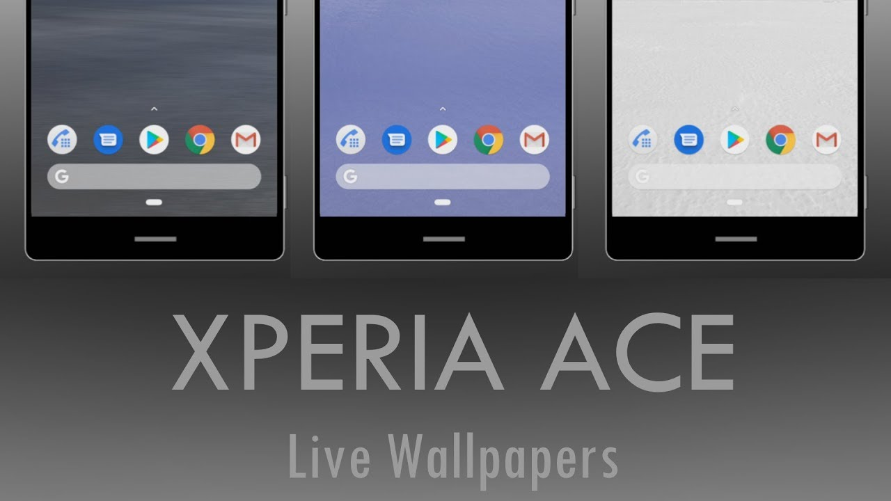 Xperia Ace Live Wallpapers Youtube