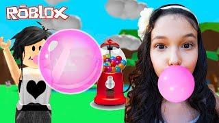 ROBLOX-MAKING GUM BALLS (Bubble Gum Simulator) | Luluca Games