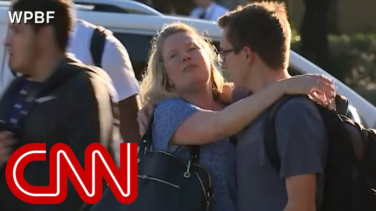 At least 17 dead in Florida school shooting #1