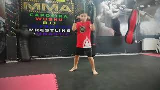 Minik Erkekler 32kg Ankara MMA Şampiyonu Umut demirkoparan
