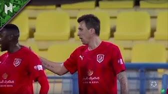 VAR denies Mandzukic a dream debut goal for Al Duhail