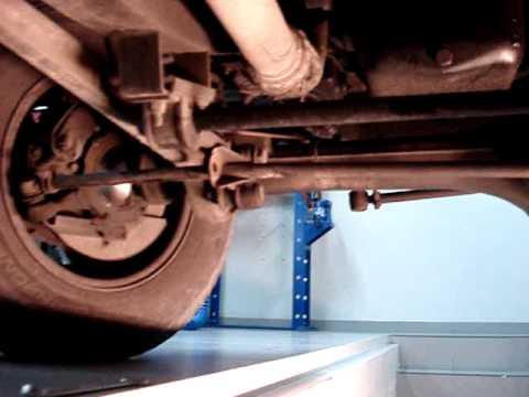Range Rover Sport >> Pandeo en Barra de dirección Land Rover 1 - YouTube