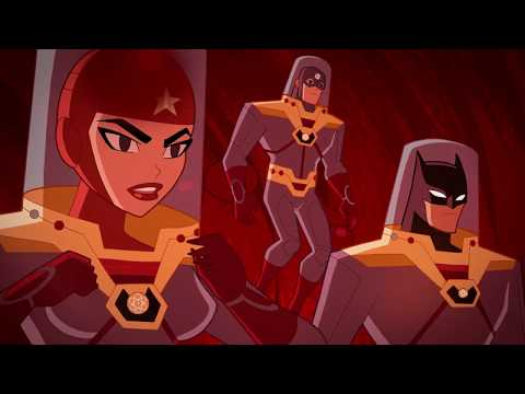 Justice League Action - Inside Job Clip #1 - 2017 Cartoon Network HD