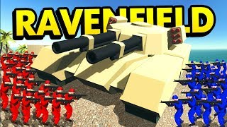 THE BIGGEST TANK IN RAVENFIELD HISTORY (Ravenfield Funny Gameplay)